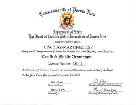 Firm License 2019
